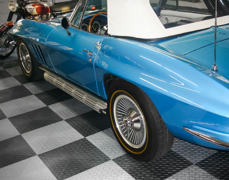 Classic Corvette on RaceDeck XL