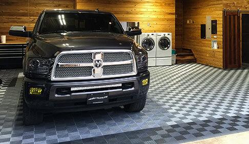Racedeck Applications Garage Flooring Shop Floors
