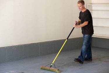 RaceDeck Garage Floor Installation step 1