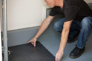 RaceDeck Garage Floor Installation step 2