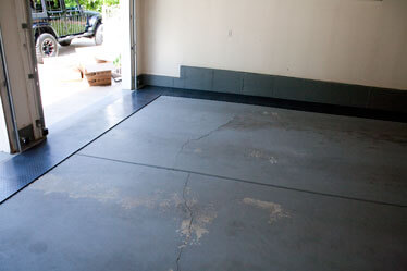 Garage Floor Installation RaceDeck Installation DIY Garage Floor - Garage floor tracks