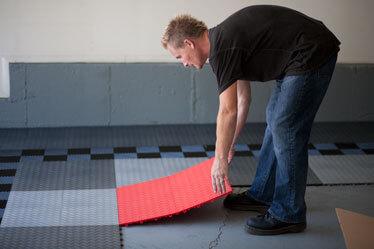 Garage Floor Installation Racedeck Installation Diy