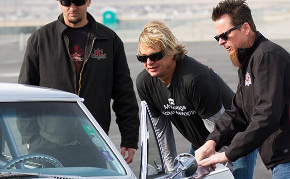Dave Kindig, Jorgen Moller, and Kevin Schiele