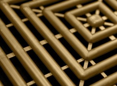 Free-Flow XL extra large self-draining garage flooring tiles