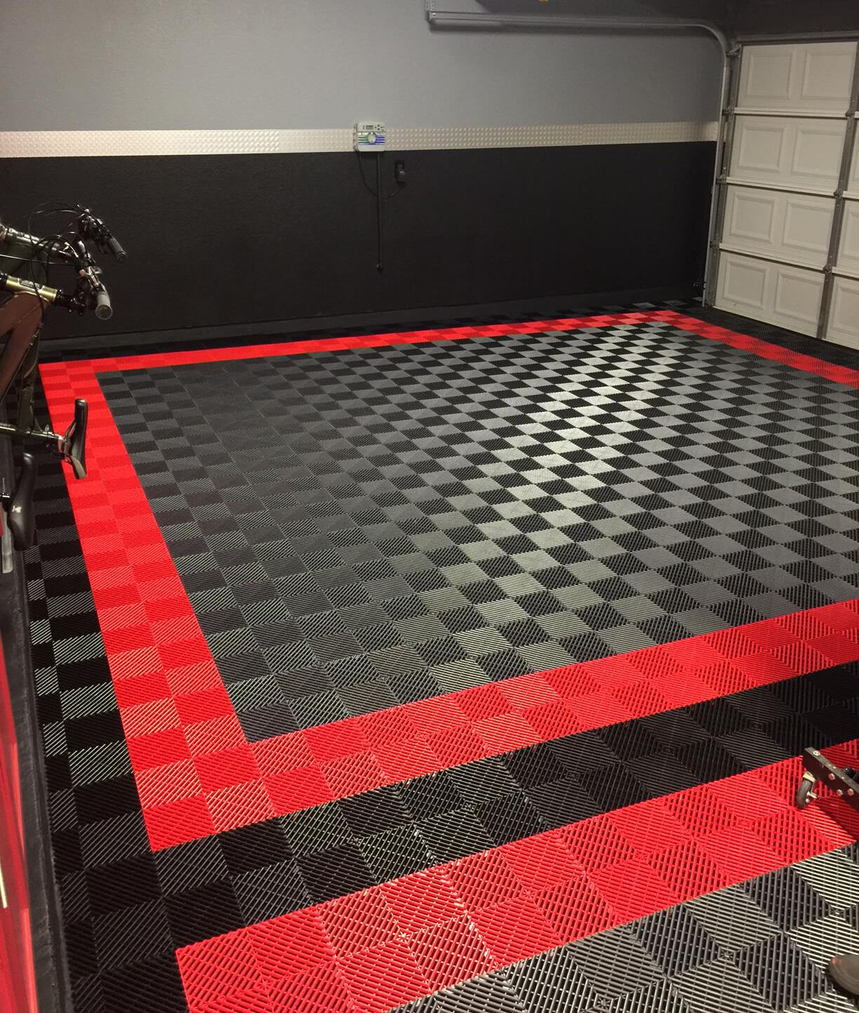 Free Flow Self Draining Garage Flooring Racedeck