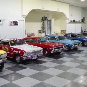 Collection of American Muscle Cars on RaceDeck