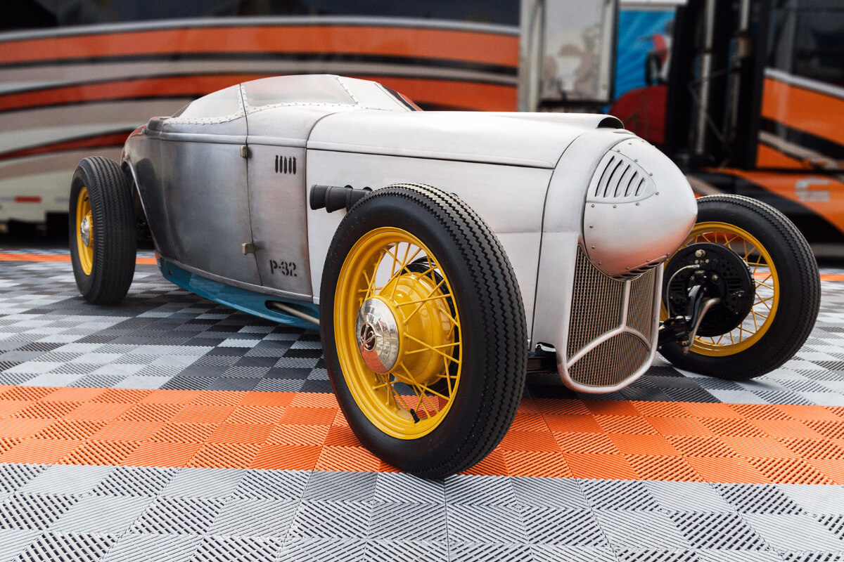 Chip Foose's P-32 on Free-Flow at the SEMA show