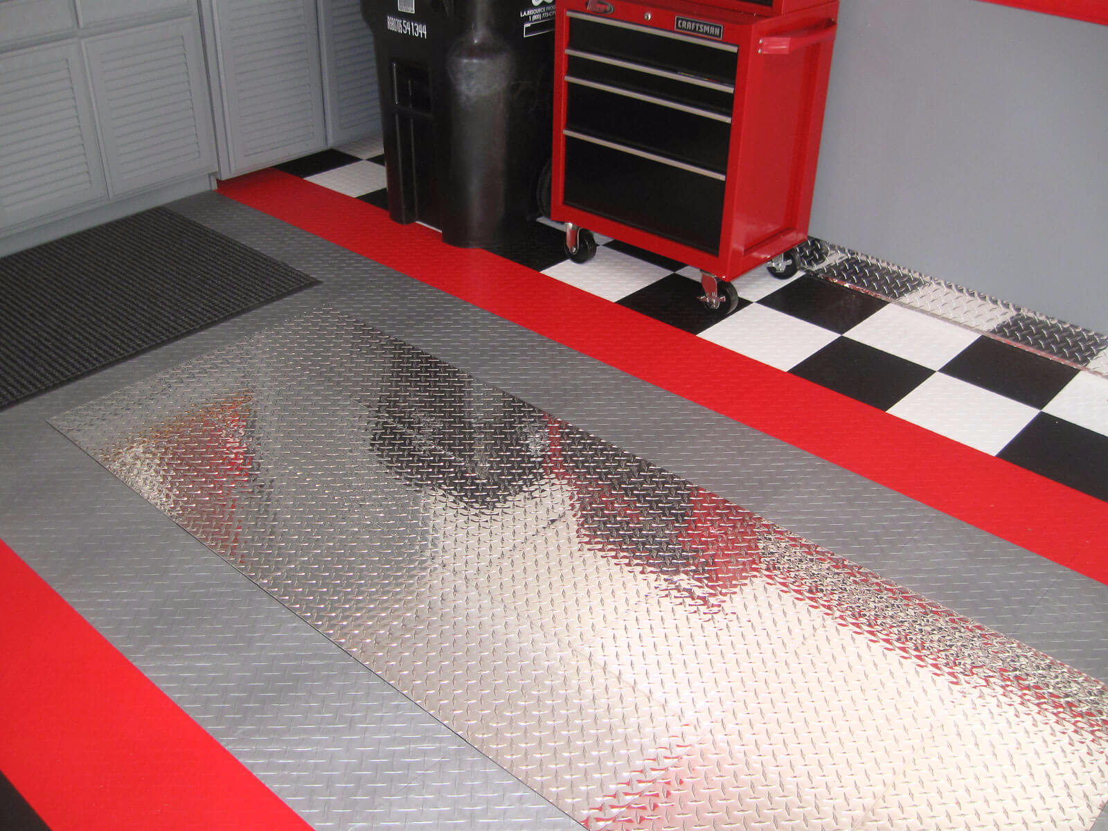 garage mats checker a rubber category flooring floor thick tiles product mat