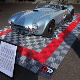 Free-Flow Parking Pad Display for 1966 Cobra