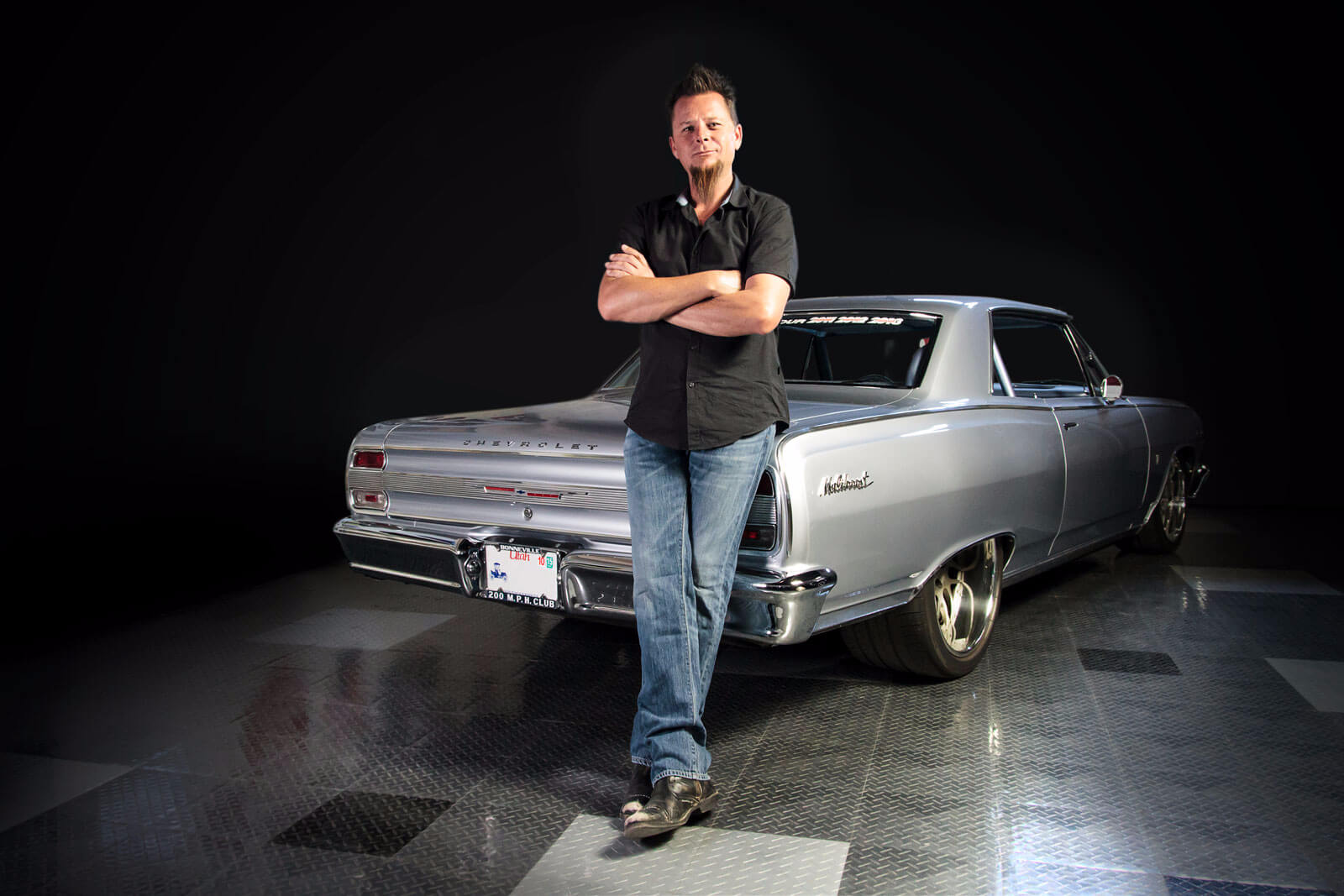 Dave Kindig of Kindig-It Design with Chevy Maliboost