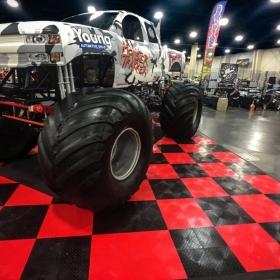 Monster Truck on RaceDeck at Autorama