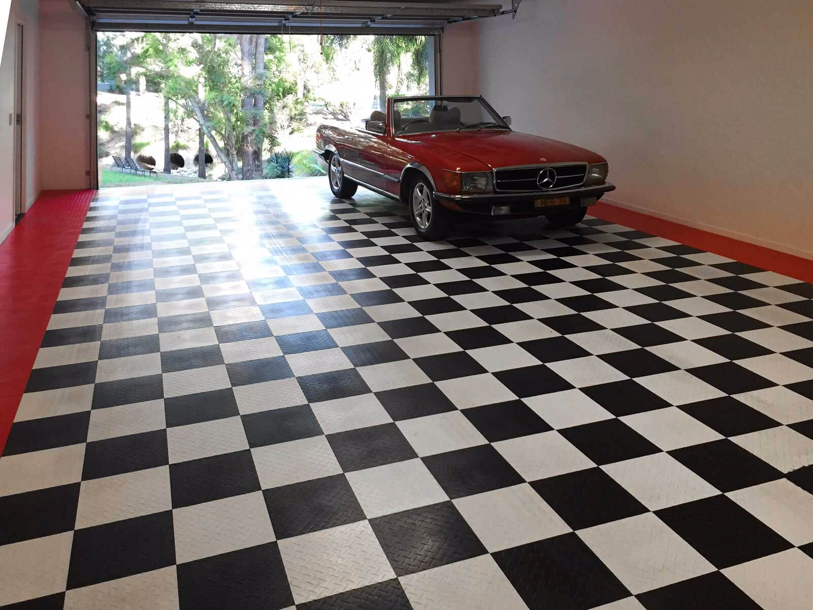 Diy garage floor tiles
