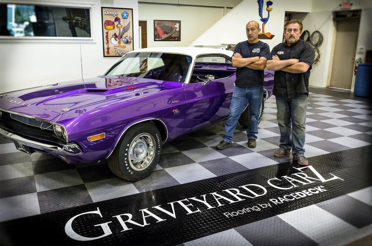 Chally and Mark of Graveyard Carz