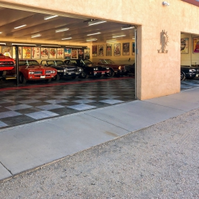 An amazing car collection in the southwest on RaceDeck Diamond.