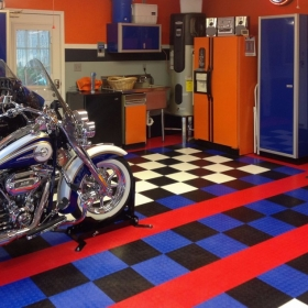 Two Harleys on CircleTrac
