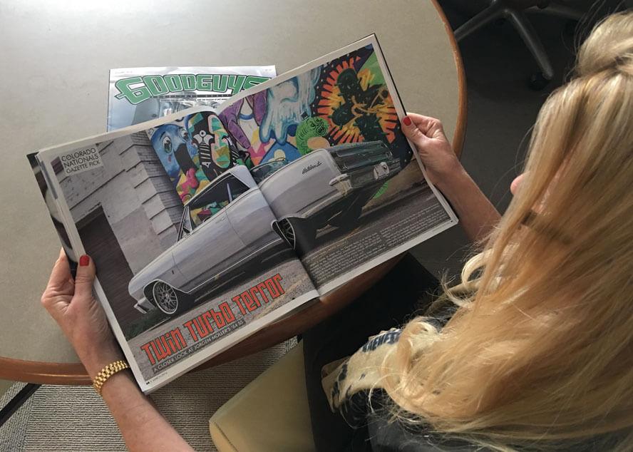The RaceDeck MaliBoost in the GoodGuys Gazette