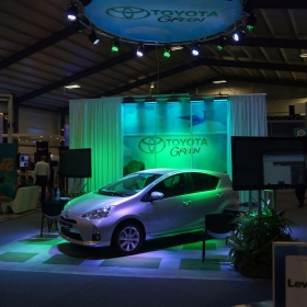 Toyota Green display using RaceDeck Diamond