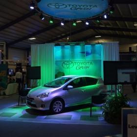 Toyota Green display using RaceDeck Diamond