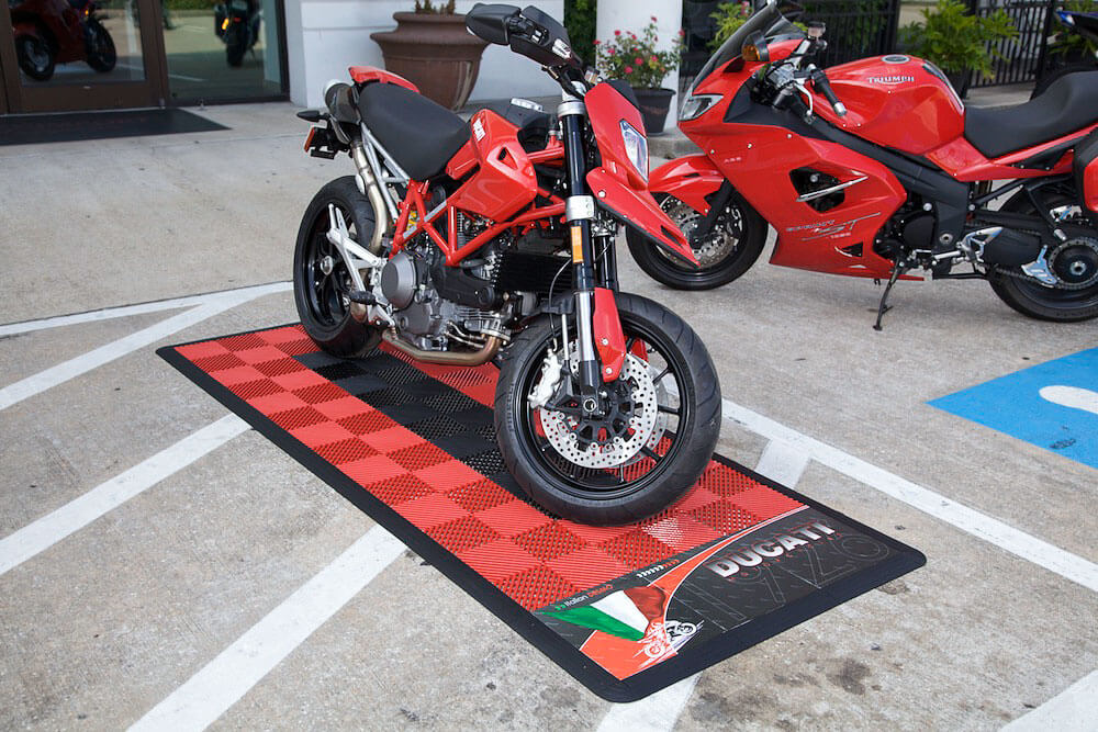 Portable Parking Garage >> Motorcycle Displays - RaceDeck