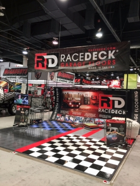 RaceDeck Garage Floors display