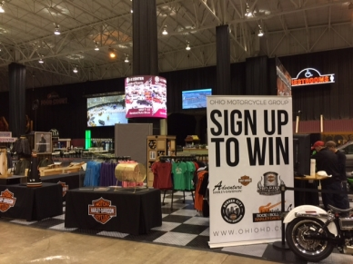 Mad River Harley-Davidson display