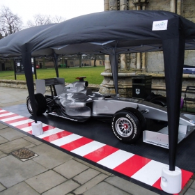 Maverick UK portable RaceDeck display