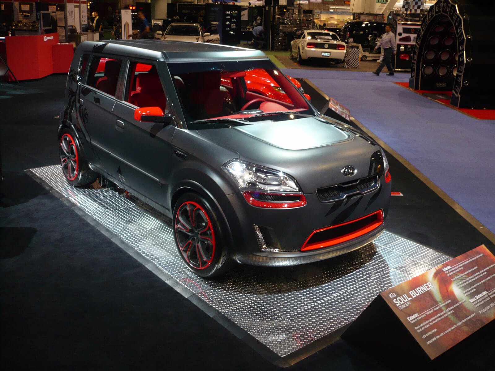 Kia Soul Burner displayed with RaceDeck Pro