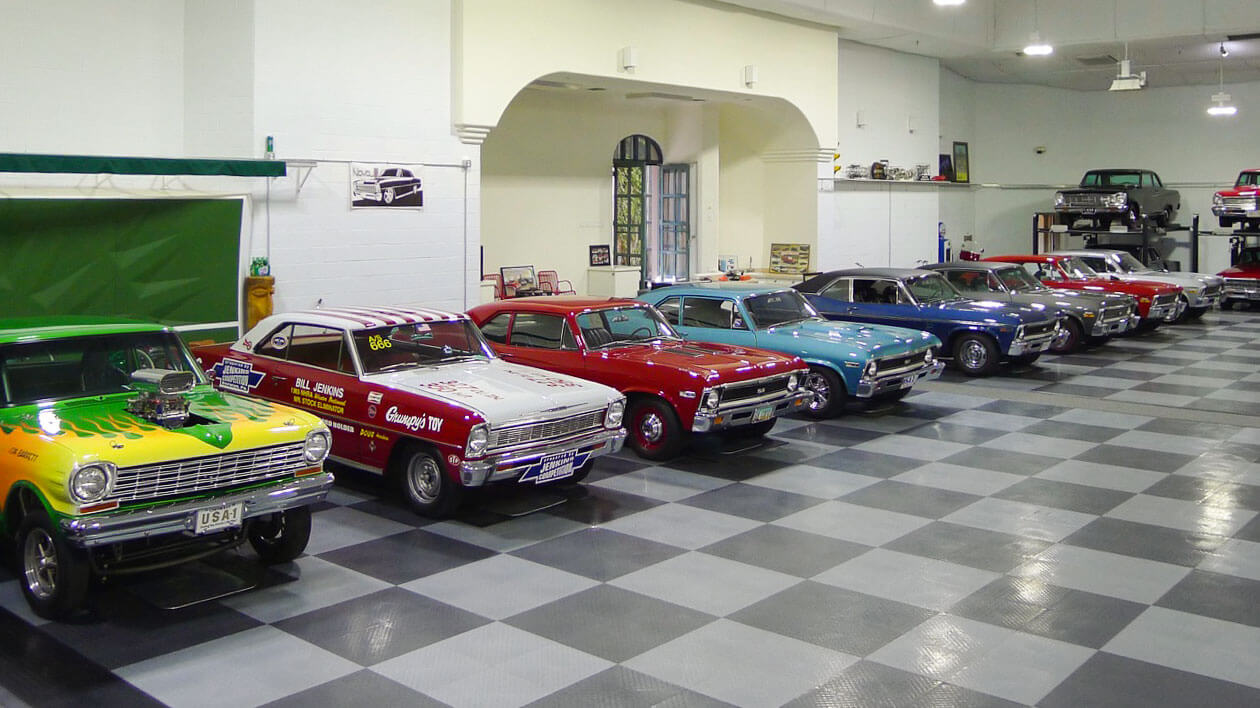 American muscle car collection