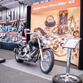 Build-Your-Own-Bike display motorcycle pad