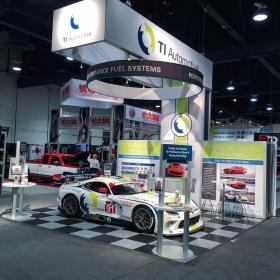 TI Automotive display with RaceDeck Diamond