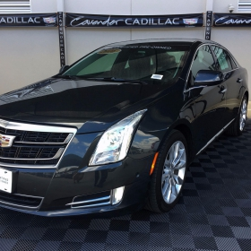 Free-Flow Cadillac display