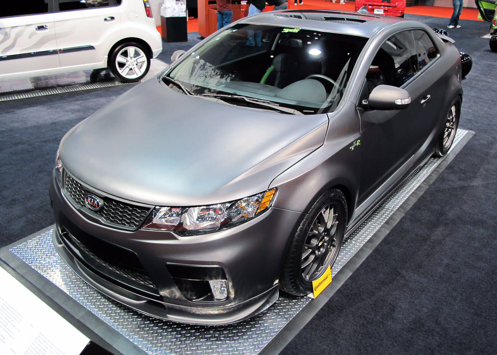 RaceDeck Pro at auto show