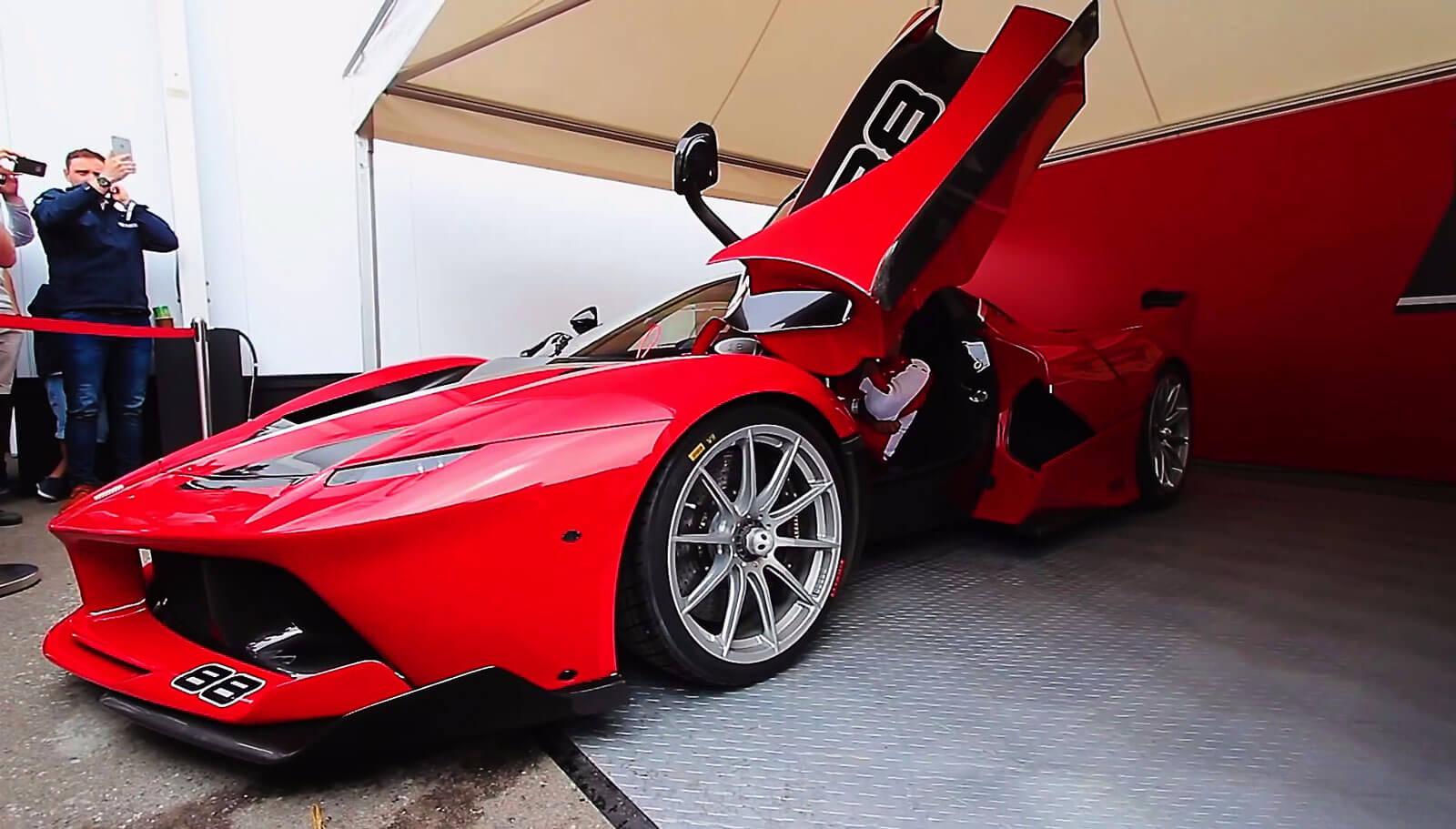 Ferrari on RaceDeck Diamond alloy
