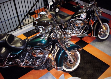 Two Harleys on RaceDeck
