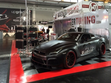Wagner Tuning display with RaceDeck XL