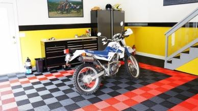 Yamaha XT dirt bike