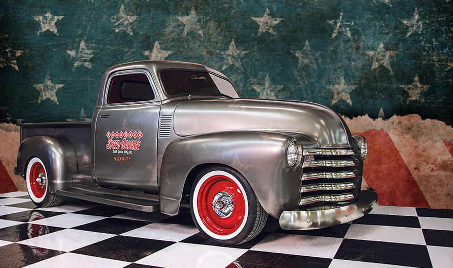 Racedeck garage flooring is Made in the USA