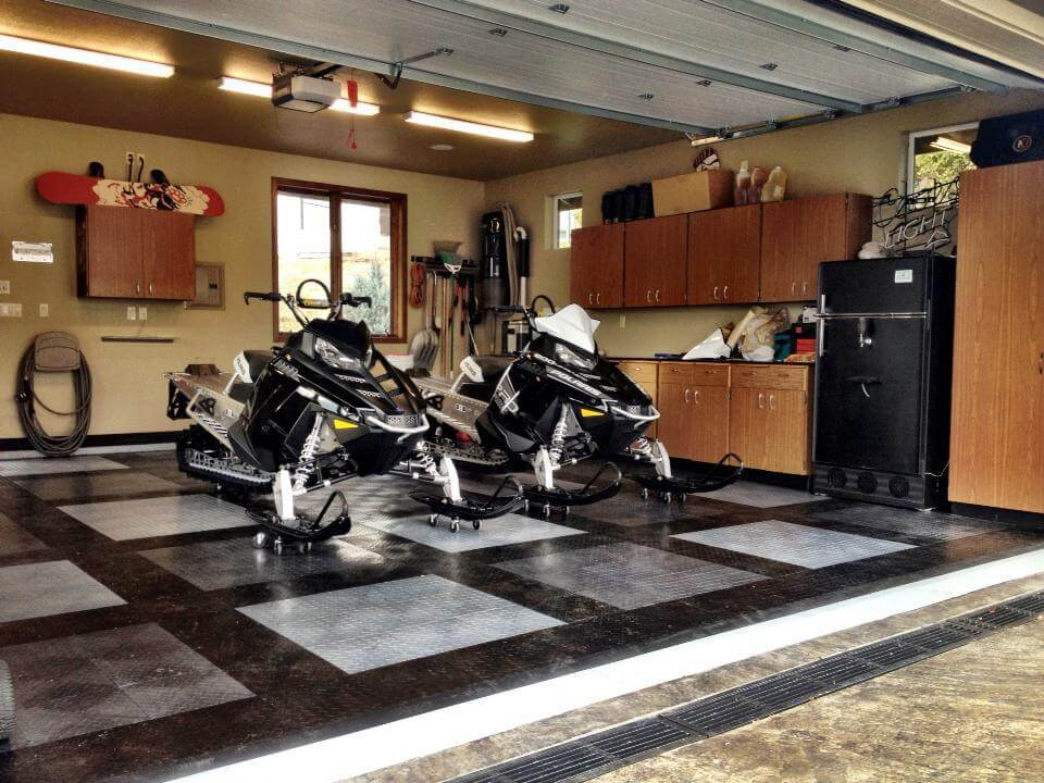 Garage Floor Mats For Snowmobiles Carpet Vidalondon