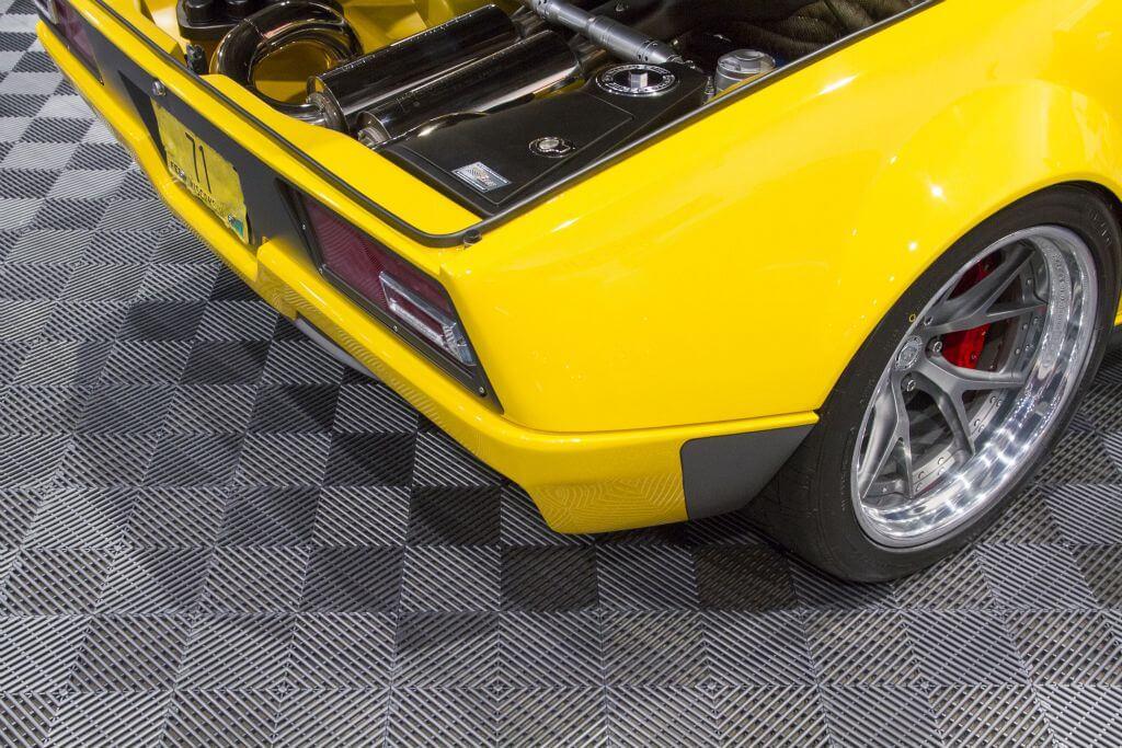 1971 De Tomaso Pantera by Ringbrothers back view