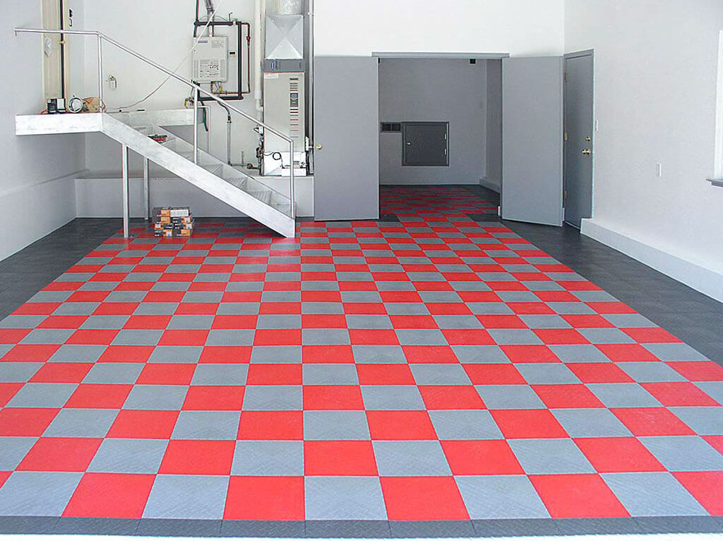 Diamond floor tile