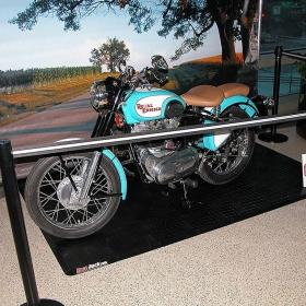 Motorcycle pad portable display