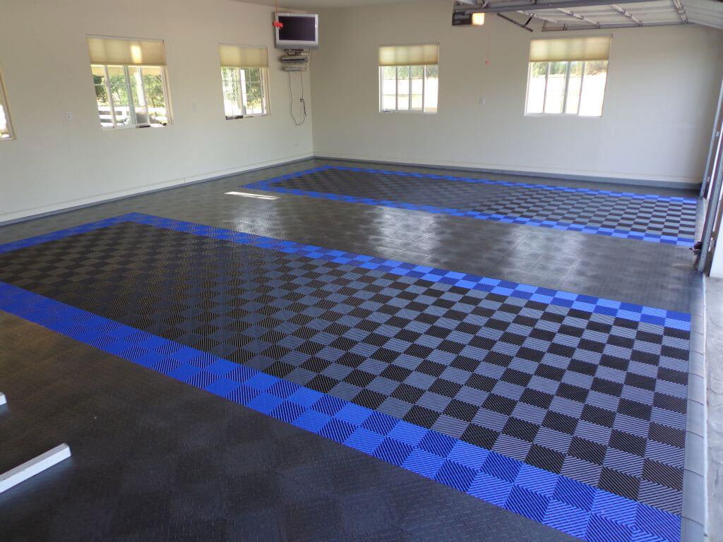 Snap floor tile