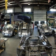 Kirkham Motorsports factory using graphite RaceDeck Diamond flooring.