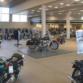 Harley-Davidson® retail display pad