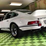 Porsche Carrera on Sublime Free-Flow flooring.