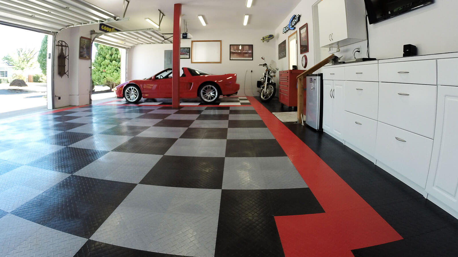 Modular Garage Flooring For Home Garage