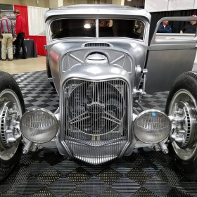 Free-Flow display at roadster show
