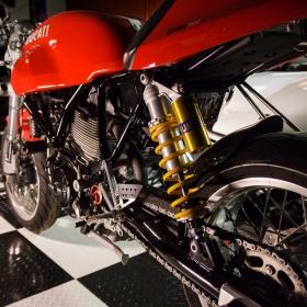 Ducati sport classic 1000 detail.
