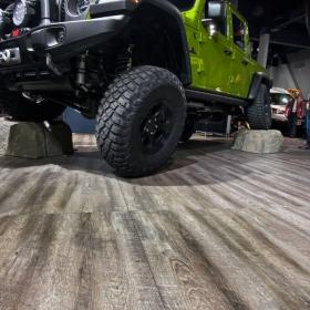 Jeep display at SEMA 2019