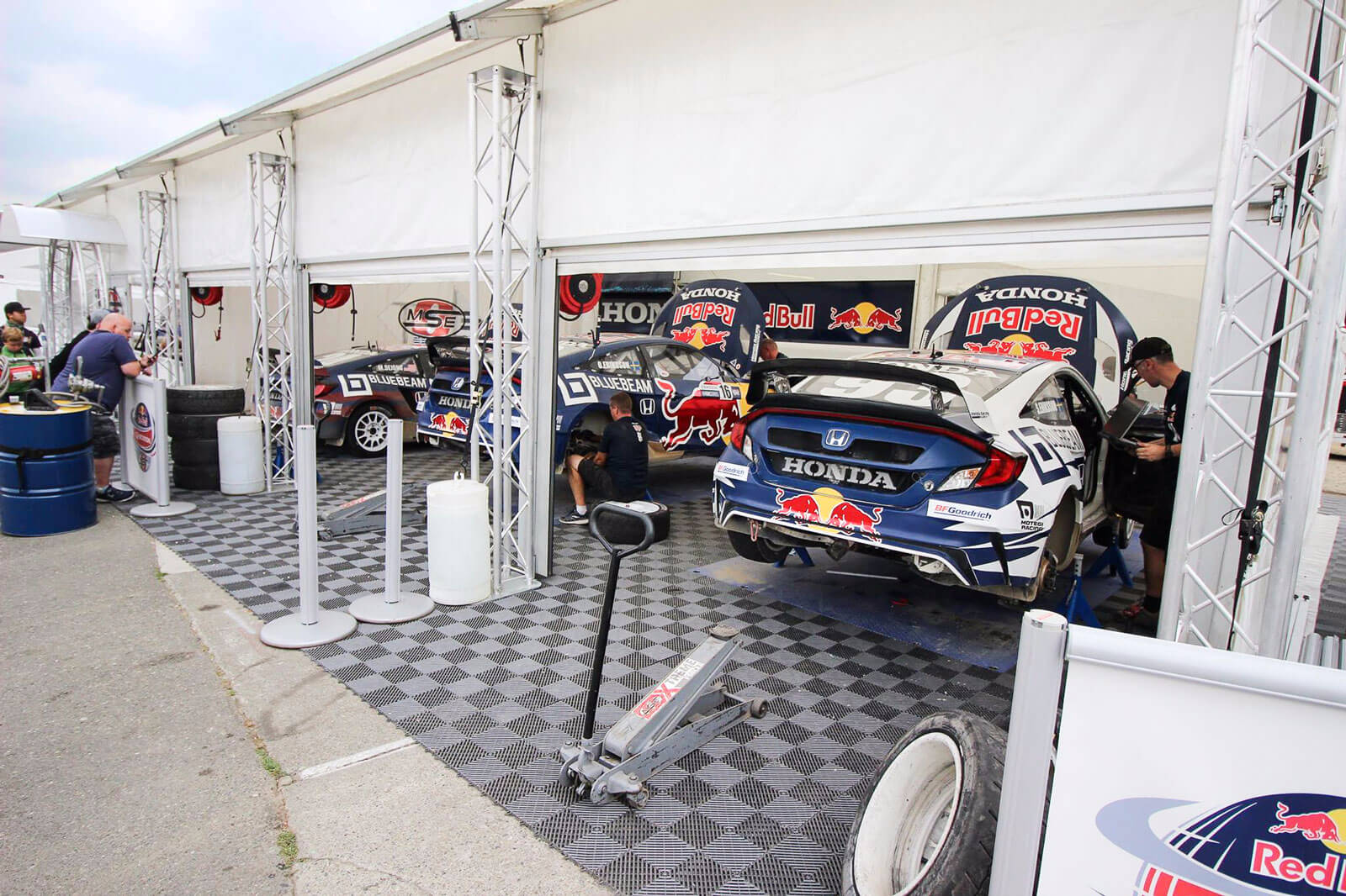 Graphite Free-Flow at the Red Bull Global Rallycross